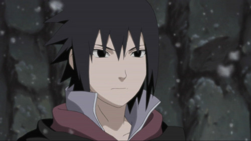 sasuke uchiha from naruto  and if u see the hair here the hair is litlle brown