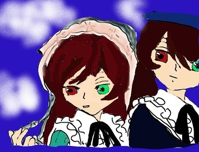 i drew this a while назад on scribbles XD it's not that good