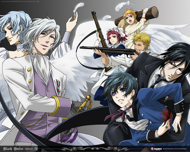 preferito Anime OTM:kuroshitsuji preferito Female Character:alice the blood stained black rabbit preferito male character:hideyoshi Kinoshita Current Anime Crush:hideyoshi Kinoshita Couple I'm Fangirling/boying Over:ciel x sebastian forever!!!!! preferito Manga:bara no maria Anime I'm currently Watching:shugo chara vampire knight code geass FMA clannad after story fragola panic ga-rei zero pandora hearts toradora 07-ghost durarara Hakuouki D.gray man descendants of darkness hell girl angelic layer uragirl wa boku no namae wo shitteiru(sorry it's so long) manga I'm Currently Reading:bara no maria Black Butler - Il maggiordomo diabolico baka and test Ordinary± Code:Breaker Teizokurei Monophobia Murder Princess id sola preferito Anime Related Possesion:getting other people to watch Anime Anime Character's Name I'm obsessed with OTM:the blood stained black rabbit Cutest Character: oz bezarius/vesalius Hottest Character: sebastian micahelis Badass Character: xerxes break o alice preferito Heroine: maka preferito Hero: shana the flaming haired red hot eyed hunter preferito Villian: Margery Daw Chanter of Elegies (if she counts) Anime I Really Need/Want to Watch:alice in the country of hearts full moon wo sagashite