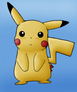 "pikachu would turn his head and say ""pika?"""
