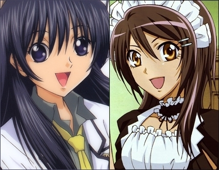 hikari speial A and misaki maid sama they are both powerfull mostly hikari is blushing around kei and misaki around usui both believe in themselves cares about their Marafiki zaidi than anything and would do nything if it means making the other person happy cant explain much but they dont look alike alot thye would be fully same if their eyes and hair colour were same
