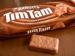 I really feel like Tim Tams They are delish :)