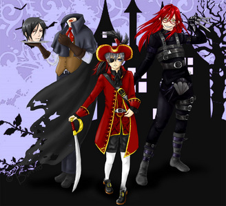 Here a holloween Black butler style XD
