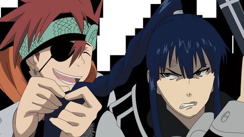 Lavi from D.Gray-Man He is so funny!!!