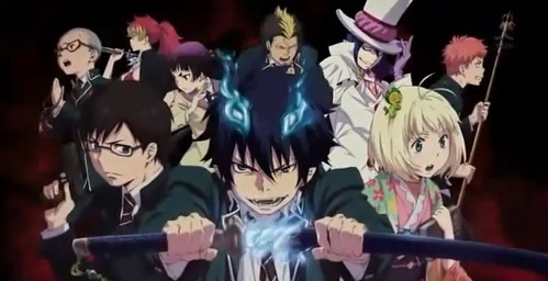Ao No Exorcist (Blue Exorcist)Characters ^__^ Im kinda sad I didn't find one with Amaimon and Behemoth in the picture too...
