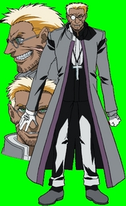 I don't know the character, but he seems to be pretty intelligent and strict. I think I also see a little spark of Egoism in his face too, but maybe it's just me. Well my current ऐनीमे crushes are Father Alexander Anderson and Captain Hans Günsche from Hellsing. Here's a pic of Hans: http://dreamworlds.ru/uploads/posts/2008-11/1226832539_hans_gunsche___svastika_by_ziomarclar.jpg And here's Father Anderson: