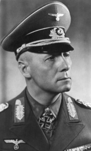 Adolf Hitler and Erwin Rommel (in the pic). I dont like them but i have curiosity in meet them face to face and ask some questions...