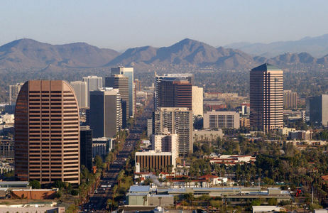 I Cinta Glendale~ *could do without the heat* This is a picture of Phoenix, but Glendale is pretty much part of it.