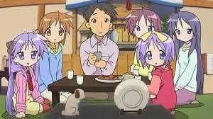 The Hiiragi family from Lucky nyota