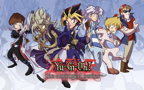 Me and my two younger brothers quote Yugioh: The Abridged Series all the time ^^