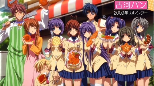The WHOLE clannad family! XD