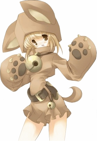 im not sure if this count but its a girl in a dog costume i guess