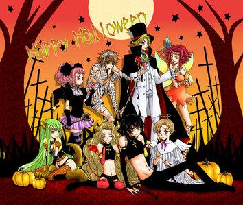 Code Geass Halloween!