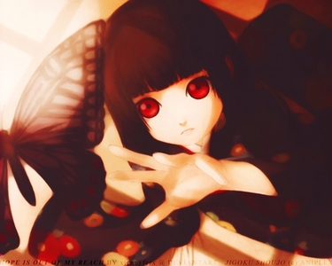 Hell Girl usually has a lot of traditional fanart not used in the 日本动漫 或者 日本漫画 :3 so there's mine :D