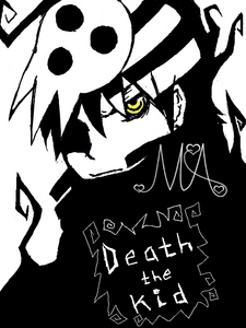 Death the Kid. I have to be honest... this was a bit hard.. I've always been a pretty big Soul fangirl myself <3 but oh well here ya go :3