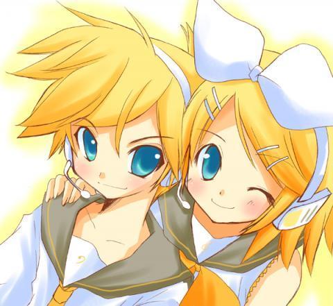 Rin and Len Kagamine!