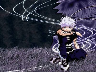 Right now, since I'm currently watching and kusoma HxH, I'd say, Killua ♥.♥