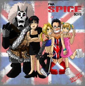 how bout that? XD Barry the choper, Mustang, Edo, Hudges and Al ^^ from fma