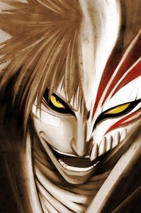 Ichigo as hollow is a bit like a demon I think... :)