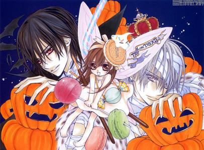 Vampire Knight. Doesn't Yuki look adorable =3