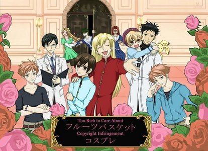 Ouran high school host club as fruits basket characters