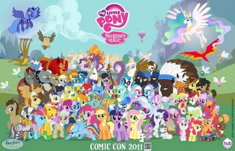 Me too! :D In fact, I amor ALL THE PONIES! :D (And not ponies alike.)