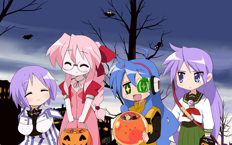 The girls from Lucky Star!