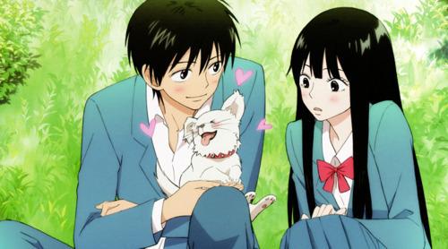 Kazehaya with Maru-chan and Sawako:)))