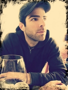 Zachary John Quinto <3 Saw him in سٹار, ستارہ Trek, and I just have to say I پرستار girled instantly. There's just something about him with his pointy ears and slanted eyebrows that just made me fall for him. He's one of a very few guys who can pull off the handsome, sexy, adorkable, nerdy look at any دیا time.