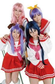 try cosplay 4 anime like lucky ster