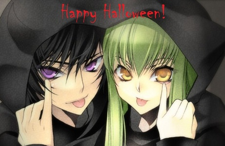 Lelouch and C.C. ^_^