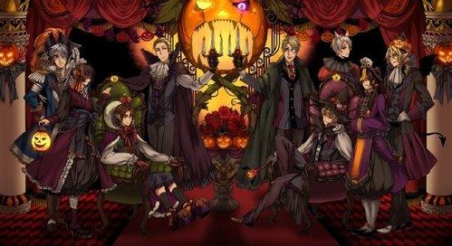 Here's a fun Hetalia Halloween!