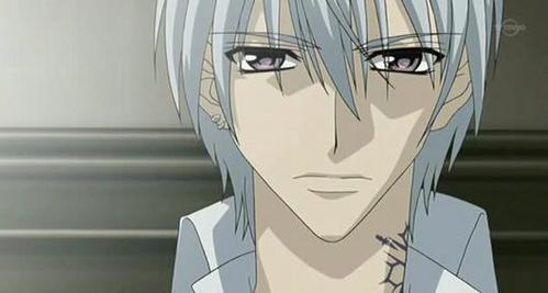 This is Zero from Vampire Knight!! Sorry, tu can't see his tattoo properly.