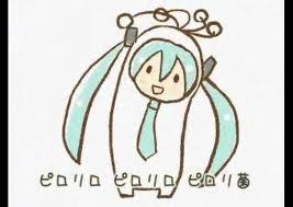 Does this count too ? :P It's Miku and she's supposed to be a bactery in this song, lol o.o