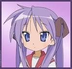 Kagami Hiiragi from Lucky Star!