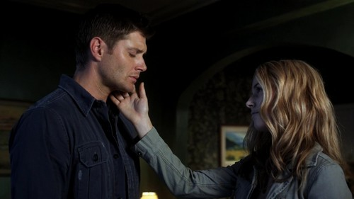 There are a lot of scenes actually but one of my latest favorite scenes is the ending of Supernatural 7x04 with Dean and Jo, beautiful scene!!!