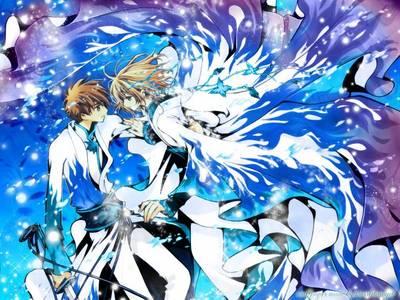 Tsubasa: Reservoir Chronicle :D The manga was great :) I love Syaoran :DD