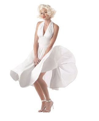 Marilyn Monroe, even gonna get a blonde wig :3 (This is just the costume, not her.)