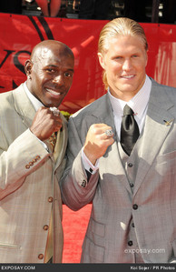 Donald Driver and Clay Matthews Jr...their both just awesome guys and great players. They also do alot for city of Green Bay.