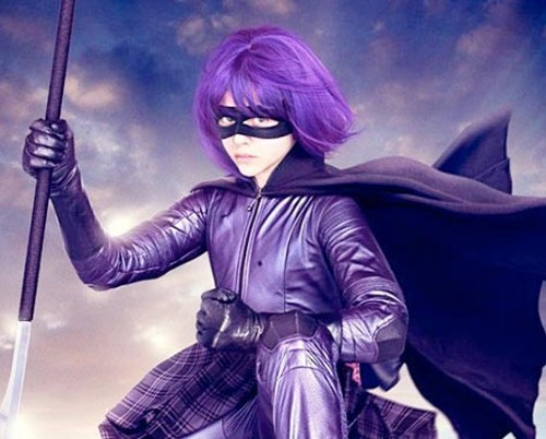 I'm gonna be Hit Girl for halloween!! Check the bushes by ur house!