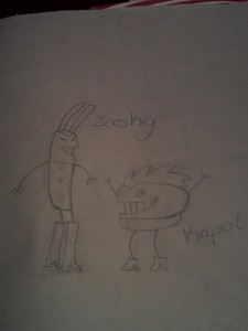 Kaput and Zasky i প্রণয় that প্রদর্শনী sadly it ain't on anymore প্রণয় ilovecornholio :D