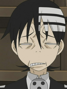 """Naw, I prefer """"I just met Excalibur"""" faces to smiley faces."""