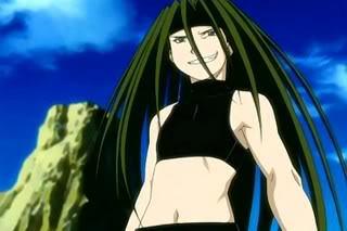 Envy-kun from Fullmetal Alchemist!!! :D