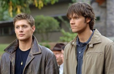 The awesome brothers from [b]Supernatural[/b], Sam and Dean Winchester. :)