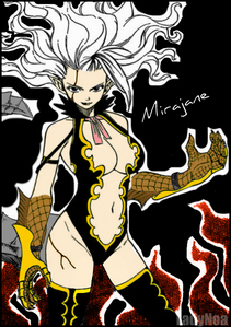 """demon girl"" mirajane"