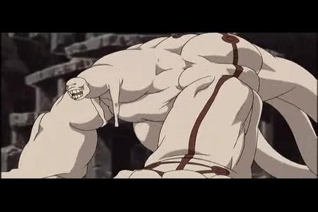 Right here... Gluttony from FMA. My, how appealing!