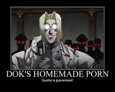 Dok, A.K.A Avondale Napyeer from Hellsing. C: