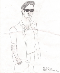 I usually draw people and I admit everybody is amazed by my drawing skills.