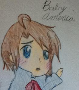 I'm okay. Heres one of Baby Alfred (America) from Hetalia. Theres a lot еще on my Spot.