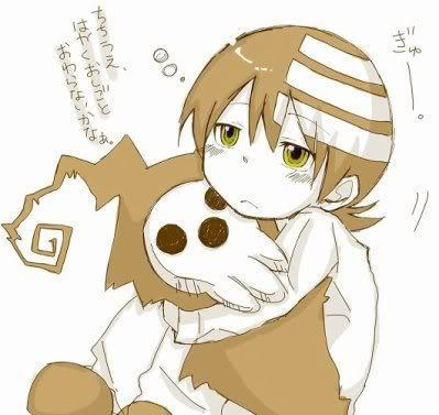 EVERYONE I'M NOT GOING TO POST A PICTURE OF DEATH THE KID! .... Pssht, who the hell am I kidding? I wouldn't be my predictable self if I didn't post Death the Kid. He's so adorable...